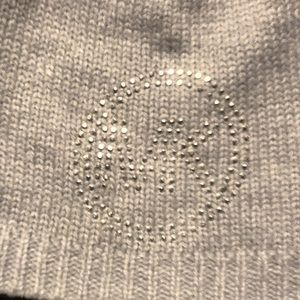 Michael Kors Pure Acrylic Soft Knit Cap. OS